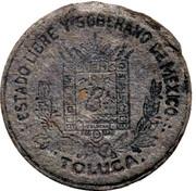 5 Centavos (Toluca) – avers