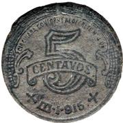 5 Centavos (Toluca) – revers