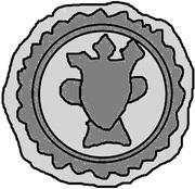 1 hohlpfennig (Reval) – revers