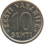 10 senti -  revers