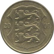 1 kroon -  avers