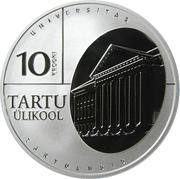 10 krooni (Université de Tartu) – revers