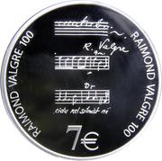7 euros Raimond Valgre -  revers