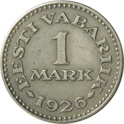 1 mark – revers