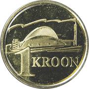 1 kroon (concours de chant) – revers