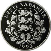 10 krooni (Jeux Olympiques de 1992) – avers