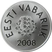 10 krooni (Jeux Olympiques Pékin 2008) – avers