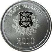 10 krooni (Jeux Olympiques d'hiver Vancouver 2010) – avers