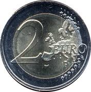 2 euros Route vers l'indépendance -  revers