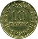 10 marka – revers