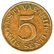 5 senti – revers