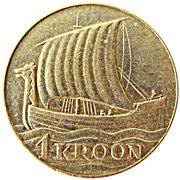 1 kroon – revers