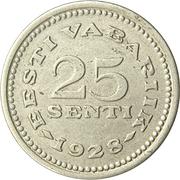 25 senti – revers