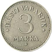 3 marka – revers