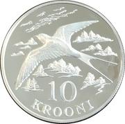 10 krooni (Hirondelle) – revers