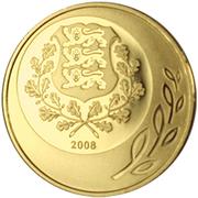 50 krooni (Anniversaire de la République) – avers
