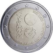 2 euros Indépendance de l'Estonie -  avers