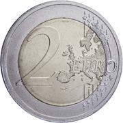 2 euros Indépendance de l'Estonie -  revers