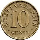 10 senti – revers