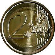 2 euros Antarctique -  revers