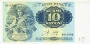 10 Krooni 2008 – avers