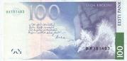 100 Krooni – revers
