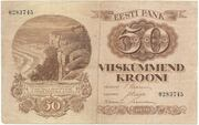 50 Krooni – avers