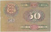 50 Krooni – revers