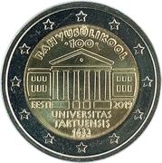 2 euros Université de Tartu -  avers