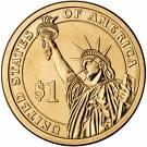 1 Dollar (Ulysses S. Grant) -  avers