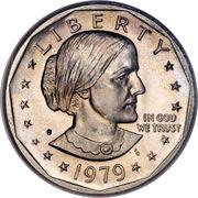 1 Dollar - Susan B. Anthony -  avers