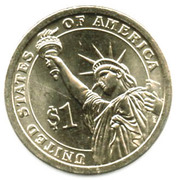 1 Dollar (Rutherford B Hayes) -  revers