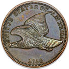 "1 cent ""Flying Eagle"" – avers"