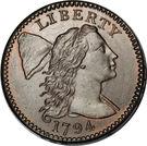 """1 cent """"Liberty Cap"""" – avers"""