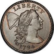 """1 cent """"Liberty Cap"""" -  avers"""