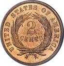 """2 cents """"Union Shield"""" – revers"""