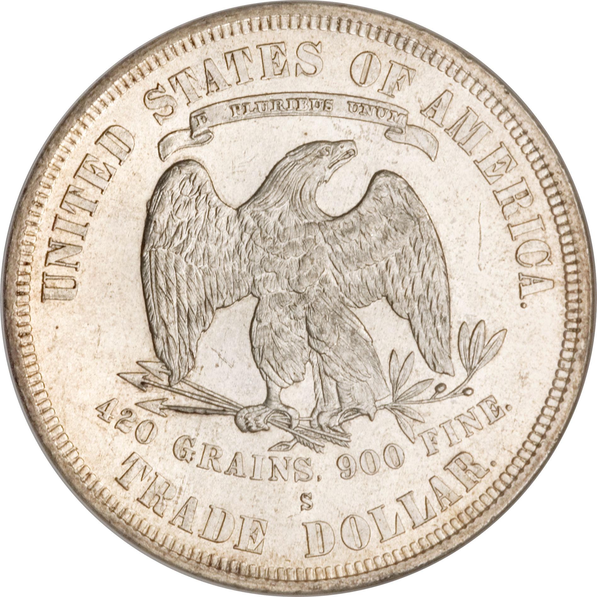 1 Dollar Quot Trade Dollar Quot 201 Tats Unis Numista