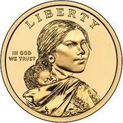 1 Dollar (Traité avec les Delawares) -  avers