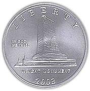 ½ dollar (First Flight Centennial) -  avers