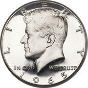 """½  dollar """"Kennedy Half Dollar"""" (argent 400‰) -  avers"""