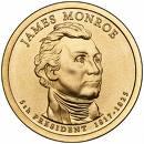 1 Dollar (James Monroe) -  avers
