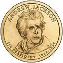 1 Dollar (Andrew Jackson) -  avers