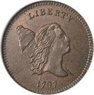 """½ Cent / 1/200 Dollar """"Liberty Cap - Half Cent"""" – avers"""
