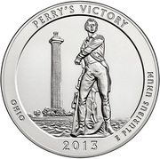"""¼ Dollar """"Quarter Perry's Victory"""" (argent) -  revers"""