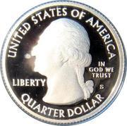 ¼ Dollar ''Washington Quarter'' (Bombay Hook National Wildlife Refuge - Silver Proof) -  avers
