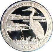 ¼ Dollar ''Washington Quarter'' (Bombay Hook National Wildlife Refuge - Silver Proof) -  revers