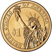 1 Dollar (John Tyler) -  revers