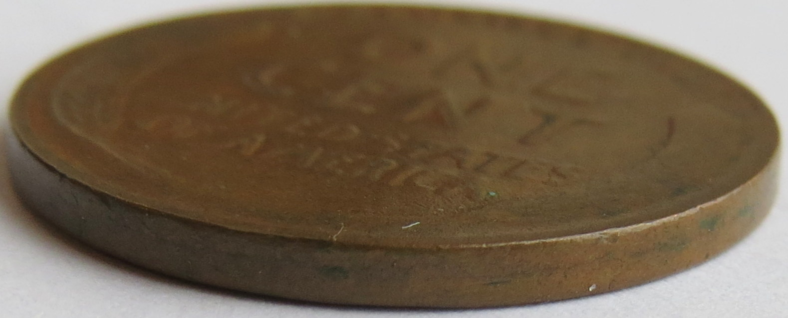 how to tell if a 1943 penny is bronze