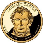 1 Dollar (Zachary Taylor) -  avers