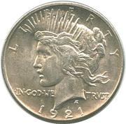 "1 dollar ""Peace Dollar"" -  avers"